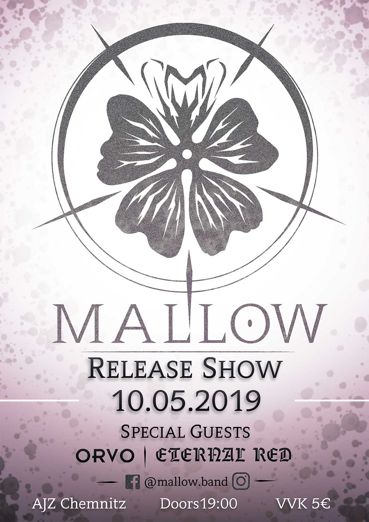 Poster Mallow Record Release Party